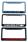 Chevrolet Brand Script License Plate Frame - Color/Finish Selections