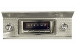 C3 Corvette 1968-1982 Custom Auto Sound USA-740 AM/FM Radio with USB/Aux-In - LCD Display