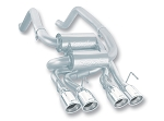 C6 Corvette 2005-2008 Borla Axle Back Exhaust System - S Type