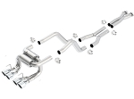 C6 Corvette Z06/ZR1 2006-2011 Borla Cat Back Exhaust System - ATAK