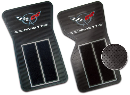 C3 Corvette 1968-1982 Deluxe Floor Mats with Carpeting - Set