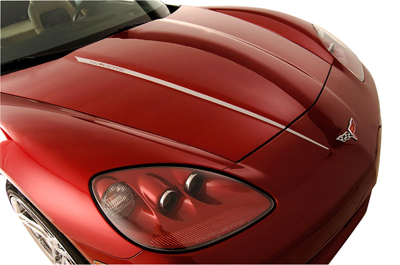 C6 Corvette 2005 2013 Hood Stripes Decal Modern Gen Auto
