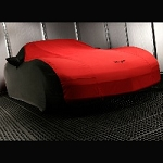 C6 Corvette 2005-2013 GM Outdoor Car Cover w/ Crossed Flags Logo