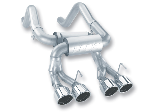 C6 Corvette Z06/ZR1 2006-2013 Borla Classic Axle Back Exhaust System - S Type