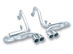 C5 Corvette 1997-2004 Borla Cat-Back Exhaust System - Dual Split Quad Exit