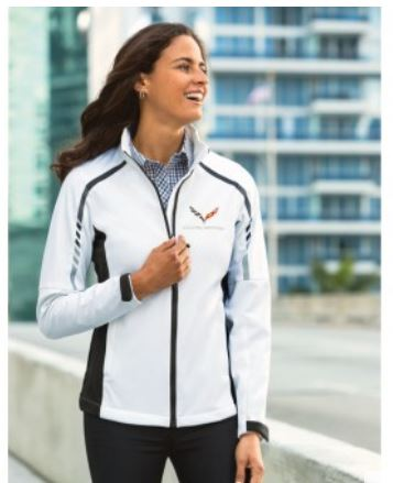 C7 Corvette 2014-2019 Ladies Metro Soft Shell Jacket - Size Options