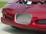 C5 Z06 Corvette 1997-2004 Perforated Front License Plate Trim