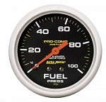 AutoMeter Pro-Comp 2-5/8 inch Mechanical Fuel Pressure Gauge, Liquid Filled, 100psi