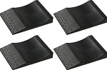 Park Right Flat Tire Trays - Set of 4