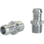 Stainless Steel Heater Hose Fitting Set - 12 pt w/ Size & Finish Options