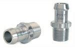 Stainless Steel Heater Hose Fittings - 12pt w/ Size & Finish Options