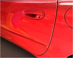 C5 Corvette 1997-2004 Custom Painted Key Hole Covers