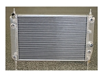 C6 Corvette Z06/Z51/Base 2005-2013 DeWitts Direct Fit Dual Row Aluminum Radiator w/ Shorter Core for Blower Clearance