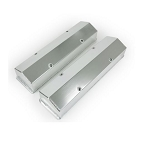 C2 C3 C4 Corvette 1963-1991 Chevy SB Aluminum Tall Fabricated Valve Covers - Style and Finish Options