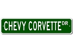 Corvette Dr Road Sign