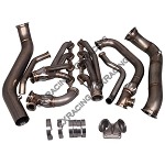 C6 Corvette 2005-2013 LS3 T4 Turbo Manifold Header and Downpipe Kit