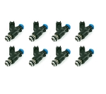 C6 Corvette Z06 2005-2013 High Flow Fuel Injectors, Set of 8 - Flow Options