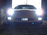 C6 Corvette 2005-2013 HID High Beam Conversion Kit
