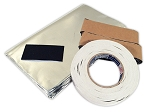 C2 C3 C4 C5 Corvette 1963-2004 AcoustiShield Door Insulation Kit - Noise Dampener