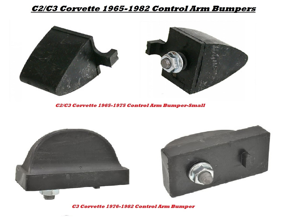 C3 Corvette 1968-1982 Rear Control Arm Bumpers - Sold Individually