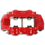 C3 Corvette 1968-1982 Stainless Steel Sleeved O-Ring Calipers - Powder Coated Red