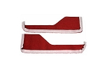 C4 Corvette 1984-1989 Carpet/Vinyl Door Panel Strips - Interior Color Options
