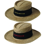 C2 C3 C4 C5 C6 C7 Corvette 1968-2014+ Signature Straw Hat