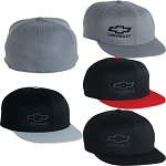 Chevrolet Flex-Fit Flatbill Cap - 4 Color Options