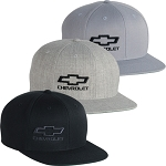 Chevrolet Snapback Flatbill Cap - 3 Color Options