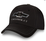Chevrolet Bowtie & Script Metal Badge Cap
