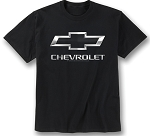 Chevrolet Bowtie & Script Metal Badge T-Shirt