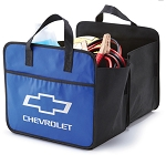 Chevrolet Bowtie & Script Expandable Vehicle Organizer - Blue