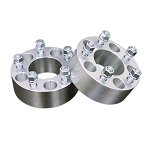 5-Lug Aluminum 25mm/1 Inch Wheel Spacers - Pair - 5x4.75