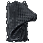 C6 Corvette 2005-2013 Carbon Fiber Vinyl Emergency Brake Boot