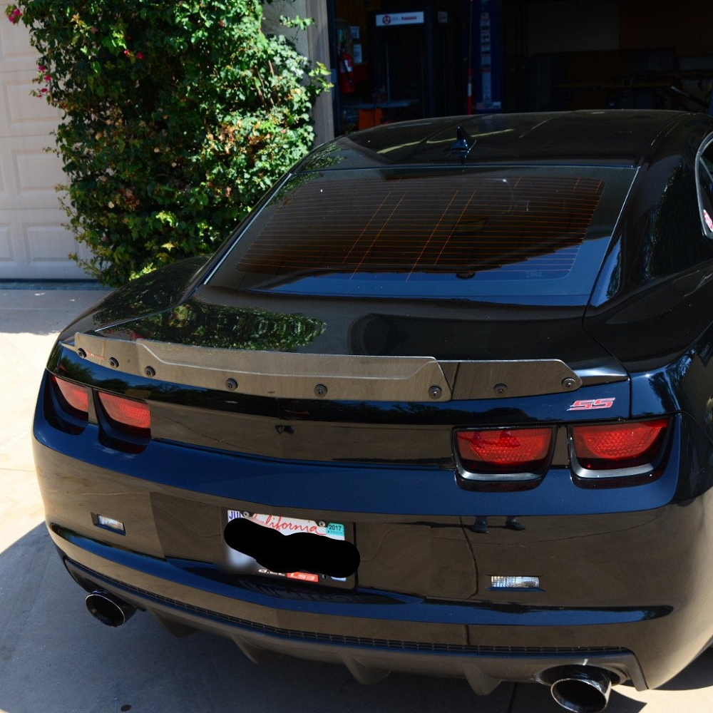 Gen 5 Camaro Ss 1le 2010 2013 Wicker Bill Spoiler