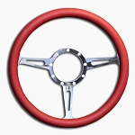 C2 C3 C4 Corvette 1963-1996 Highly Polished Classic Billet Aluminum Steering Wheel - Multiple Grip Options Available