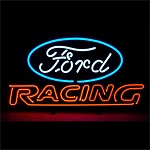 Ford Racing Neon Sign - 25w x 14h x 4d