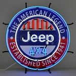 1997-2007+ Jeep Wrangler TJ / JK The American Legend Neon Sign