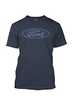 Ford Oval Mens Tee - Blue