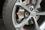 C6 Corvette Grand Sport/Z06 2006-2013 Polished Stainless Caliper Overlays