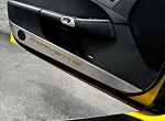 C6 Corvette 2005-2013 Stainless Door Guards w/ Carbon Fiber Inlays