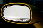 C6 Corvette 2006-2013 Z06 Side View Mirror Logo Trim