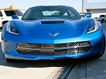 C7 Corvette Stingray 2014-2019 Front Grille Stainless Overlay Polished