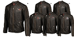 C4 C5 C6 Corvette 1984-2013 Featherweight Leather Jacket - Long