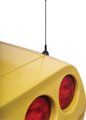 C5 Corvette 1998-2004 Z06 & Fixed Roof Coupe Shorty Antennas