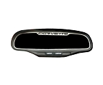 C6 Corvette 2005-2013 Stainless Steel Rearview Mirror Trim - AutoDim or Standard - Logo Selection