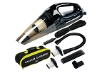 High Power Portable Handheld Car Vacuum w/ Attachments & Case