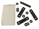 C3 Corvette 1968-1975 Seat Back Adjustment Shim Kit