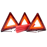 Emergency Reflective Warning Triangle - 3Pc