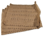 C2 Corvette 1963-1967 Seat Cover Burlap - Assembled 4pc Set